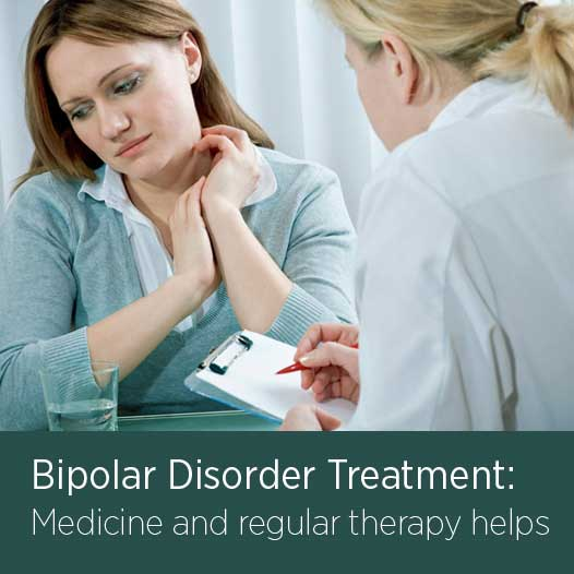 Bipolar disorder treatment therapy