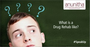 What is a drug rehab like?