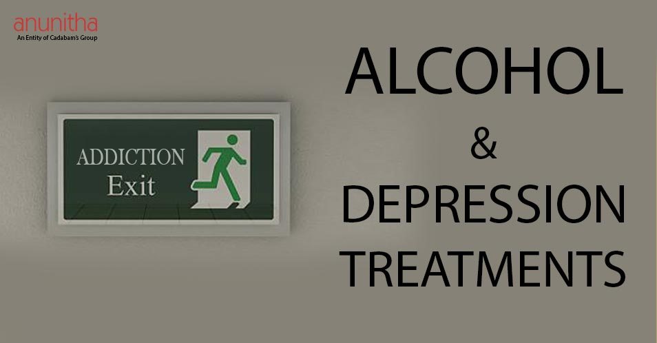 ALCOHOL AND DEPRESSION TREATMENT