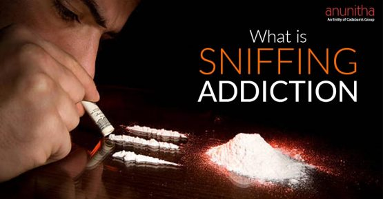 What is sniffing addiction?