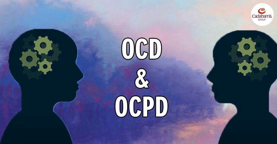 difference between OCD and OCPD?