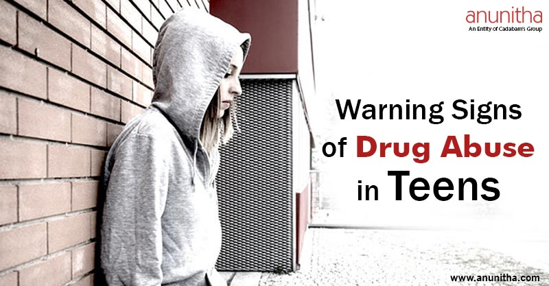 Warning Signs of Drug abuse in Teens