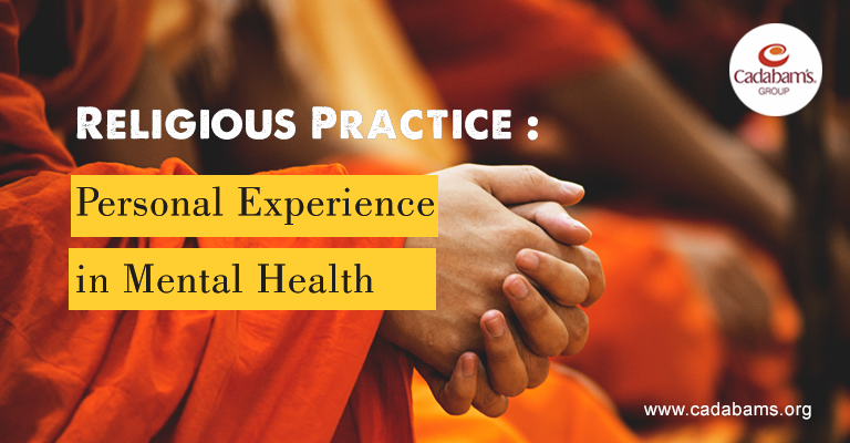 Religious Practice: Personal Experience in Mental Health