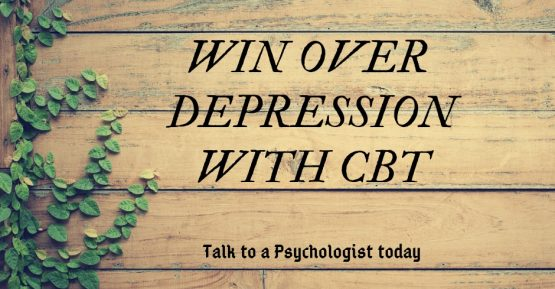 Cognitive Behavioural Therapy To Treat Depression