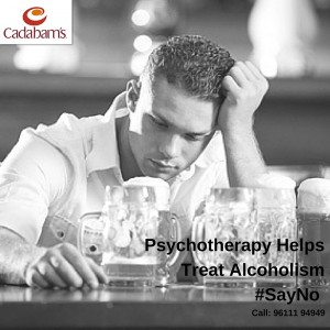 PsychotherapyHelps Treat Alcoholism#SayNo