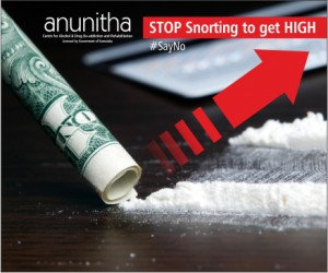 Stop snorting to get High